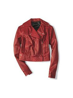 Red Leather.....nice