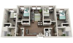 2_Student Housing « 3Dplans.com