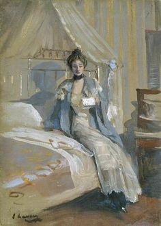 """""""The Letter"""": Sir John Lavery, R.A."""