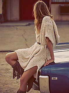 Tulum Nights Cable Tunic | Free People