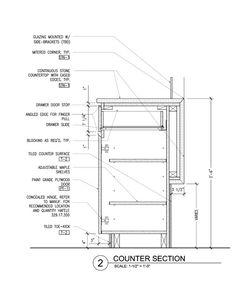 Bar Counter Detail Drawing Google Search Detale Pinterest Bar Counter Bar And Detail
