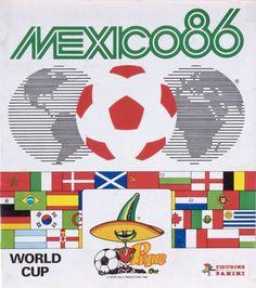 Panini Mexico 86