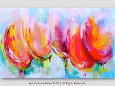 Reservados de la pintura por Colleen por lanasfineart en Etsy