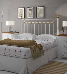 Cama Forja Blanca Buscar Con Google Rooms Pinterest