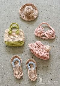 Accessories for a Barbie