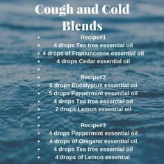 4 Amazing Essential Oil Blends For Cold & Flu (+ Top 5 Oils That Help!) - Enjoy Natural Health