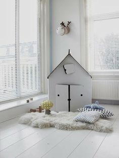 pokój dziecięcy w zimowym nastroju // kids space in winter mood