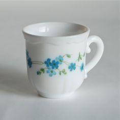 2 tasses à café myosotis Arcopal - Deco Graphic