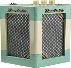 Danelectro Hodad Portable Mini Guitar Travel Amp in Mint Green Subwoofer Box, Les Paul Custom, How To Have Twins, 5 W, Cool Tones, Modern Retro, Cool Guitar, Stiles, Retro Design
