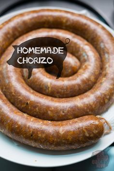 Homemade Chorizo (or any sausages)