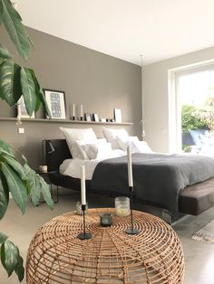 Bedroom pictures: furniture for the oasis of wellbeing - white bedroom furniture Bedroom Furniture Sets, Room Decor Bedroom, Outdoor Furniture Sets, Bedroom Ideas, Ikea Bedroom, Small Furniture, Bedroom Inspiration, Gray Bedroom, Master Bedroom