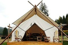 Honestly. If you cannot have fun with a glamping outdoor tent, there is something wrong with you http://accordingtobrian.com/glampingtents