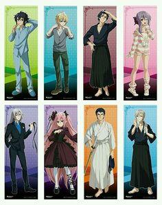 Hyakuya Yuichiro, Hyakuya Mikaela, Ichinose Guren, Hiiragi Shinoa, Ferid Bathory, Krul Tepes, Hiiragi Kureto and Hiiragi Shinya