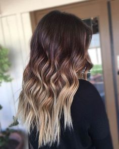 Balayage Blonde Ends - 20 Fabulous Brown Hair with Blonde Highlights Looks to Love - The Trending Hairstyle Dark Ombre Hair, Blonde Hair Tips, Dark Brown Hair With Blonde Highlights, Long Brunette Hair, Brown Hair Balayage, Long Brown Hair, Balayage Brunette, Light Brown Hair, Hair Highlights