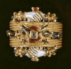 Ring, 1600s, Hungary.