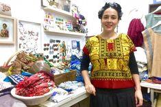 Mariana Grapain Etno Diseño Oaxaca Mexico - #blouse