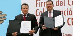 CNDH y SNTE firman acuerdo a favor de la educación en derechos humanos