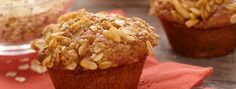 Fig and Apple Muffins | Looking for a new breakfast idea? Try these delicious and hearty muffins. Every bite is packed with figs, apples and a hint of cinnamon.