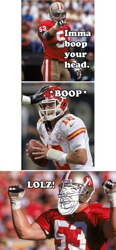 NFL /// Memes /// Head Boop'n with Bill Romanowski --- Click to view blog entry.