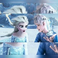 Jack: See Elsa it's not dangerous. Elsa: Thanks . . . Dad. Sorry but I'm still getting used to the idea of you as my father. Jack: That's okay  . . . I'm so glad i found you though