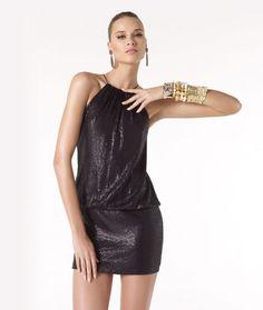 Photo Dec. 10 Model Raven. Short Party Dresses Pronovias 2014. Avance Collection Wedding dresses. | HISPABODAS