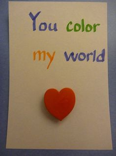 You color my world! #Valentines @BabyCenter