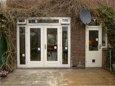 Hijkersmilde, Drenthe - Tuindeuren-OPMAAT.nl - Openslaande houten tuindeuren