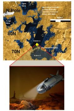 NASA releases details of Titan submarine concept By David Szondy 2/10/15 The Titan submarine would explore Kraken Mare [Space Future: http://futuristicnews.com/category/future-space/ & http://futuristicshop.com/category/space-future-books/ Mars in the Future: http://futuristicnews.com/tag/mars/ NASA: http://futuristicnews.com/tag/nasa/]