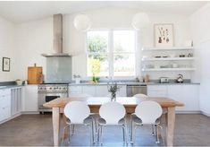 very open kitchen