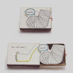 Artist Creates Little Matchbox Greeting Cards With Hidden Messages Inside