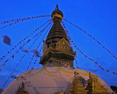 Swayambhunath Monkey Temple of Nepal