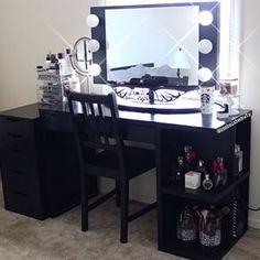 Makeup Table Vanity Mirror Hollywood Vanity Girl