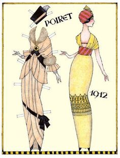 Paper doll 1912