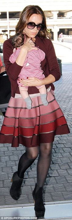 LOVE Victoria's skirt! The whole outfit, really. So cute!