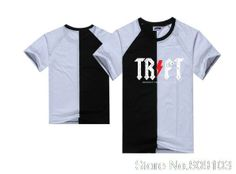 men's cotton mix color t shirts Summer hip hop t-shirt wholesale and retail brand letter print tee shirt short sleeve tops $18.99