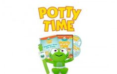 Potty Time; Potty Training your Toddler Made Easy