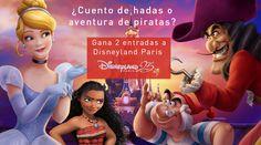 [Concurso Piratas y Princesas] Inventa el título de la historia que podrías vivir con un amigo tuyo en Disneyland® Paris y podrás entrar en el sorteo de 2 entradas de 1 día / 2 parques