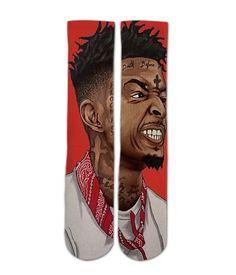 5539ebdf13ac 21 savage socks - Awesome elite socks for guys girls adults and kids