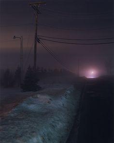 Todd Hido Photography, dark, colors, night