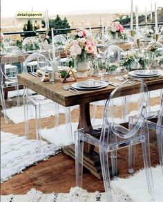 Ghost Chairs Cheap Hanging Chair Deck 508 Best Images Acrylic Furniture Dining Details Wedding And Event Planning