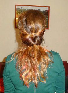 Flip with braids