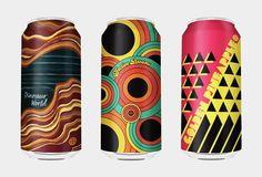 The Most Beautiful Beer Cans of 2017 - craft beer Craft Beer Brands, Craft Beer Labels, Wine Labels, Beer Can Art, Beer Art, Beer Packaging, Beverage Packaging, Packaging Design, Energy Drinks