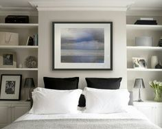 Bedroom layout chimney breast