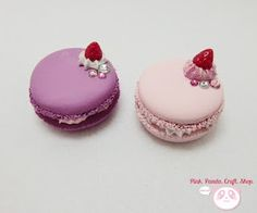 Polymer clay Macaroons~