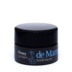 Rosey Lip Balm from de Mamiel. With camellia oil, evening primrose oil & mango butter.
