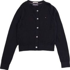 Tommy Hilfiger Lana Cardigan Navy blue `6 years,8 years Fabrics : Mixed Cotton Jersey Details : Straight cut, Long sleeves, Buttons, Openwork details on shoulders Composition : 60% Cotton, 20% Polyamide, 20% Viscose http://www.comparestoreprices.co.uk/january-2017-7/tommy-hilfiger-lana-cardigan-navy-blue-6-years-8-years.asp