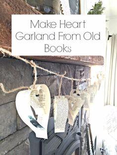 32 ötlet régi könyvek újrahasznosítására