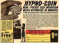 Hypno-Coin | 15 Enticing Vintage Comic Book Ads