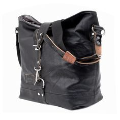 Leather Jacket Tote Bag // Handmade & Upcycled by by peace4youBAGS, $340.00