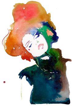 Watercolor Painting Print of Watercolor door silverridgestudio, $35.00